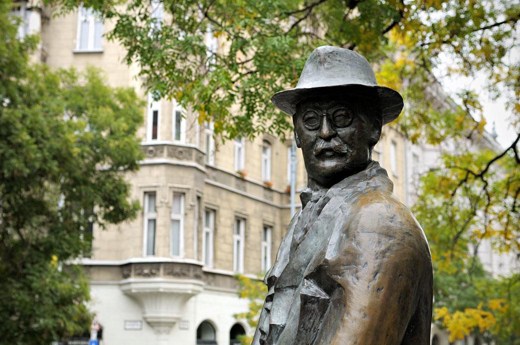 Statue de Imre Nagy à Budapest, Hongrie