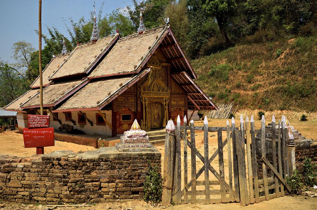 Monastère bouddhiste de Wun Nyat, Birmanie