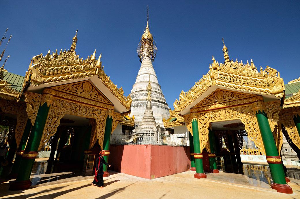 Pagode de Kakku - le site sacré des Pa-O, Birmanie