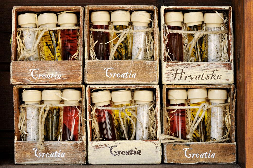 Souvenirs d'Istrie pour touristes, Croatie