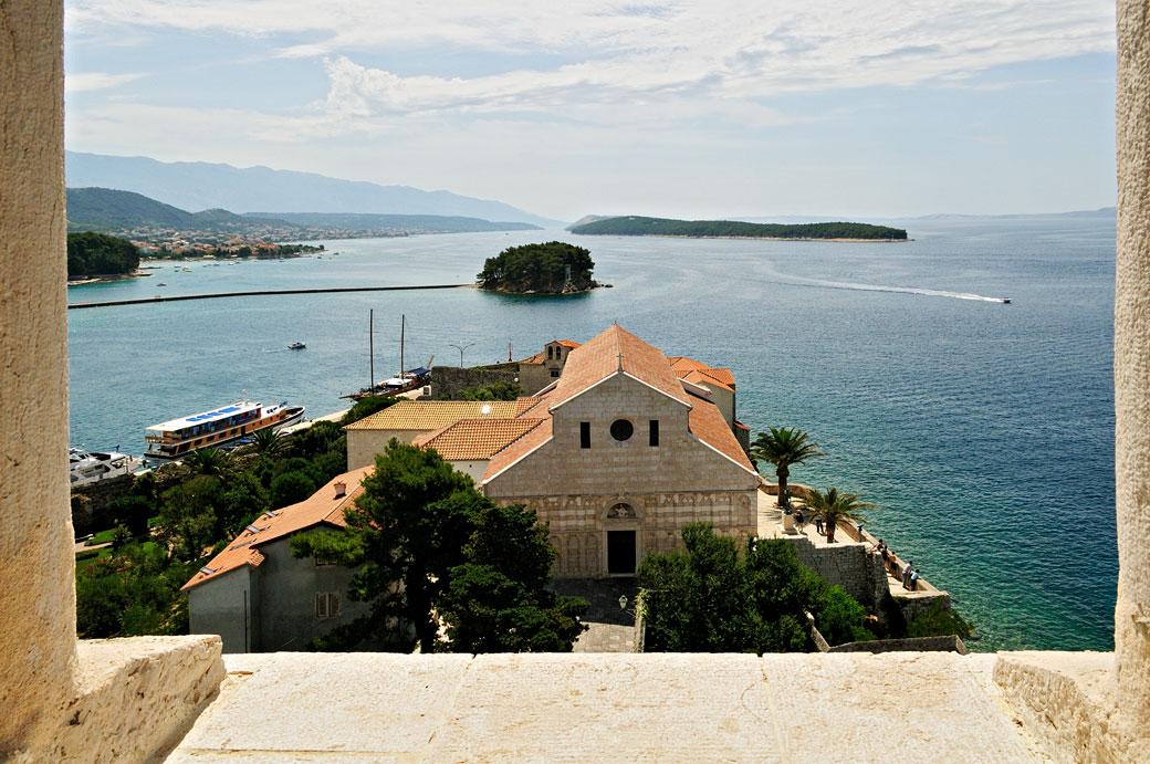 L'église Sainte-Marie-Majeure de Rab, Croatie