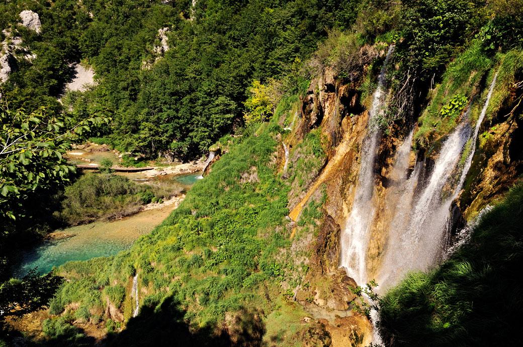 Cascades de la rivière Korana, Croatie