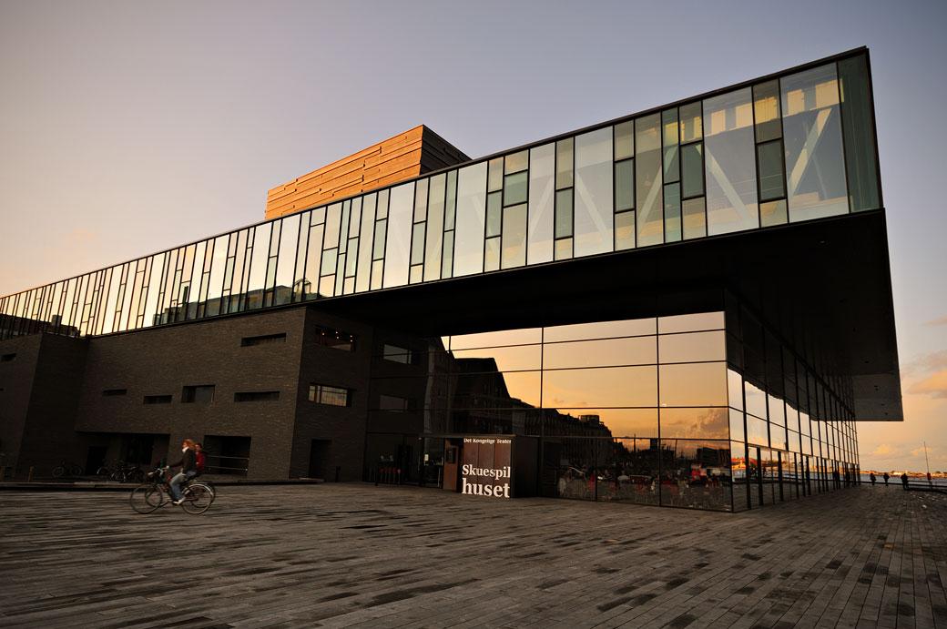 Théâtre royal (Skuespilhuset) à Copenhague, Danemark