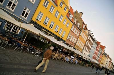 Maisons colorées de Nyhavn à Copenhague, Danemark