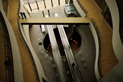 Passages dans la bibliothèque royale de Copenhague, Danemark