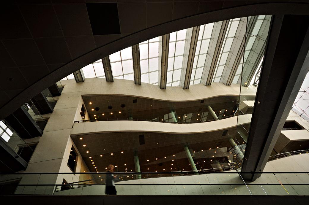 Architecture de la bibliothèque royale de Copenhague, Danemark