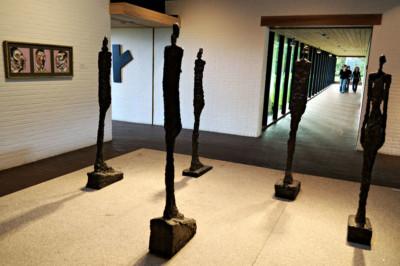 Femmes de Venise de Giacometti au musée Louisiana, Danemark