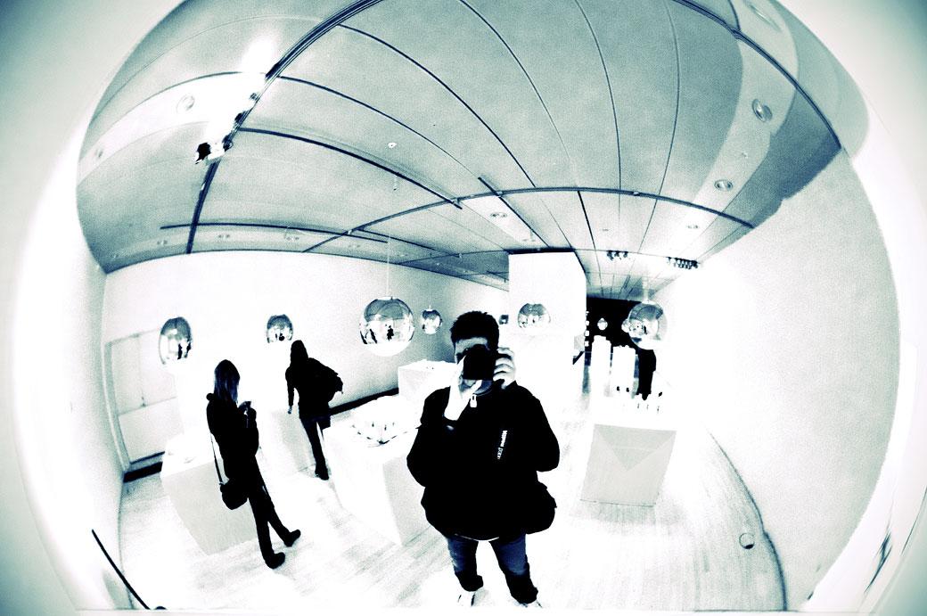 Selfie au Danish Design Centre à Copenhague, Danemark