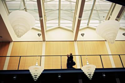 Lampes au Danish Design Centre à Copenhague, Danemark