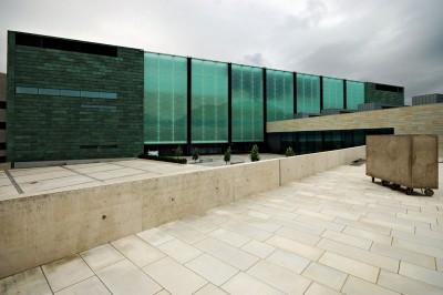 Bâtiment du KUMU, le musée d'art Estonien de Tallinn