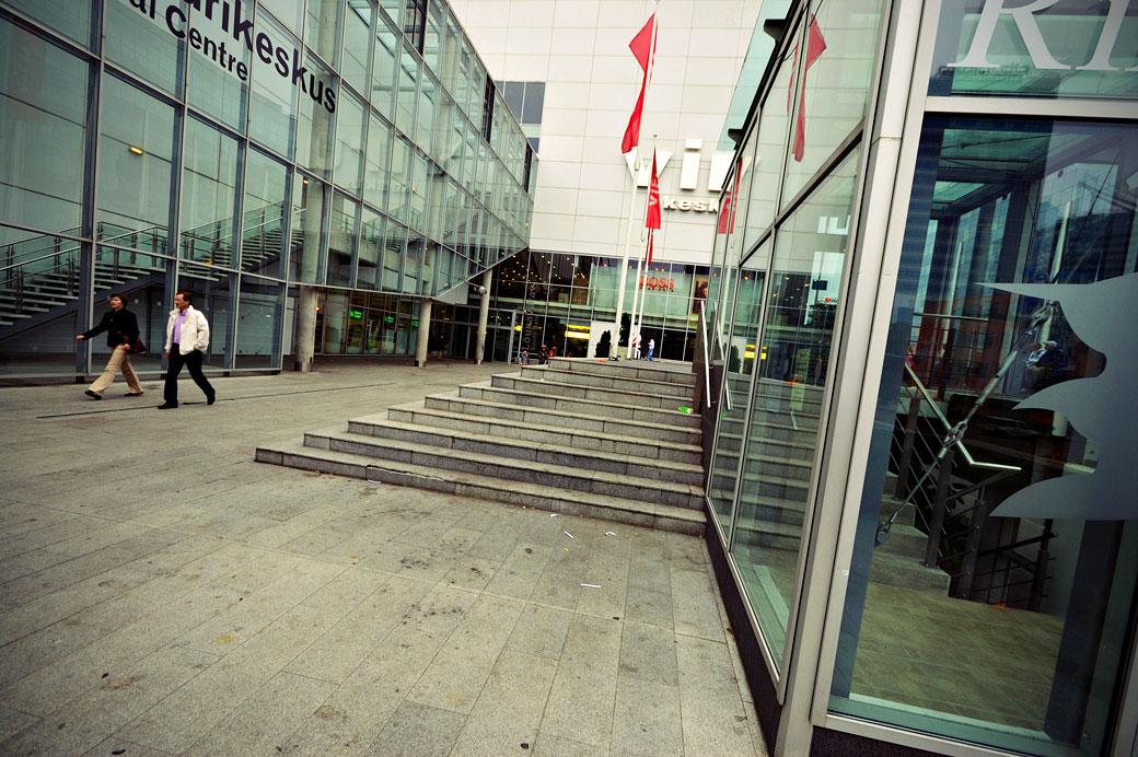 Centre commercial Viru Keskus de Tallinn, Estonie