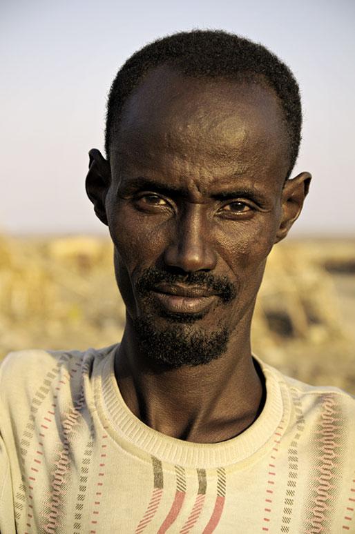 Portrait d'un homme fier d'Ahmed Ela, Ethiopie