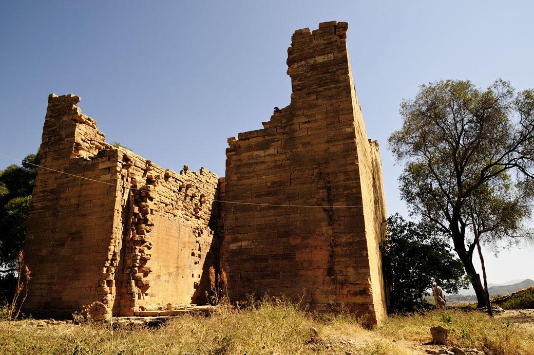 Ruines du temple de Yeha dans le Tigray, Ethiopie