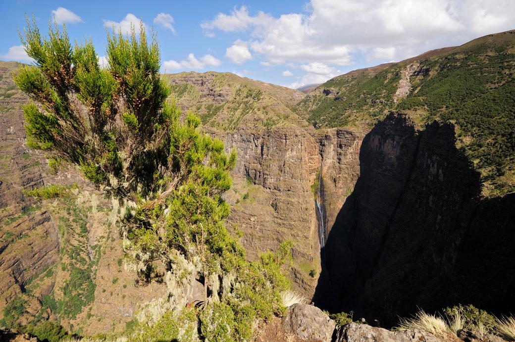 Abysse de Geech dans le massif du Simien, Ethiopie