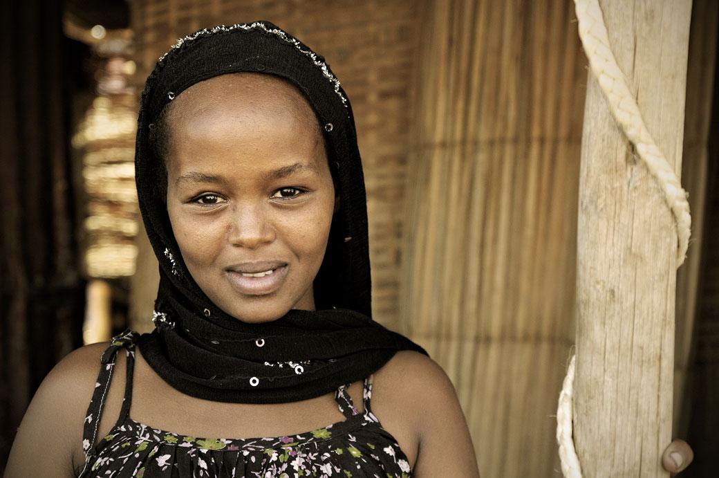 Jeune femme Afar à Afdera, Ethiopie