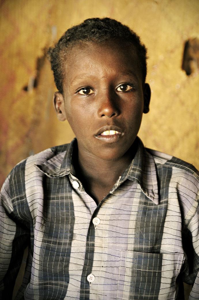 Enfant Afar du désert Danakil, Ethiopie