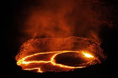 Volcan Erta Ale et son lac de lave, Ethiopie