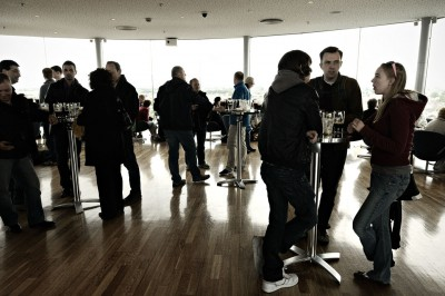Gravity Bar au 7e étage du Guinness Storehouse à Dublin