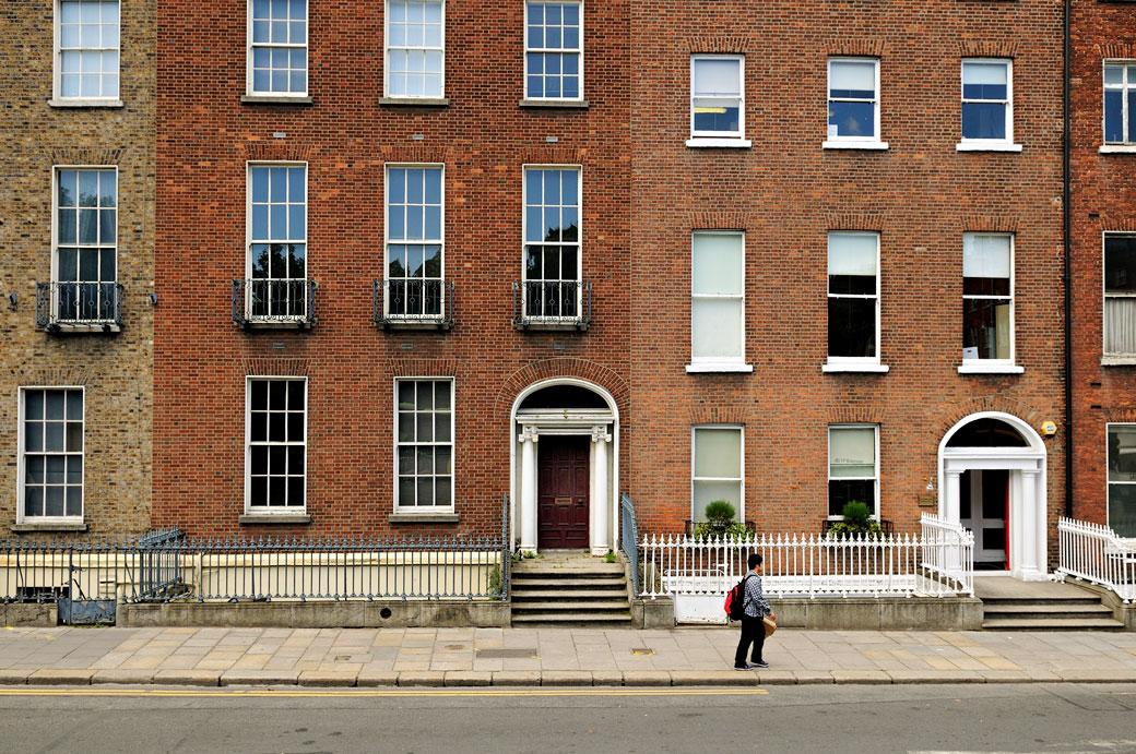 Portes et fenêtres à Dublin, Irlande
