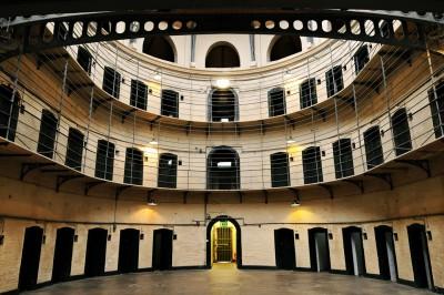 Prison de Kilmainham à Dublin, Irlande