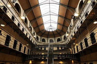 Cellules de la prison de Kilmainham à Dublin, Irlande