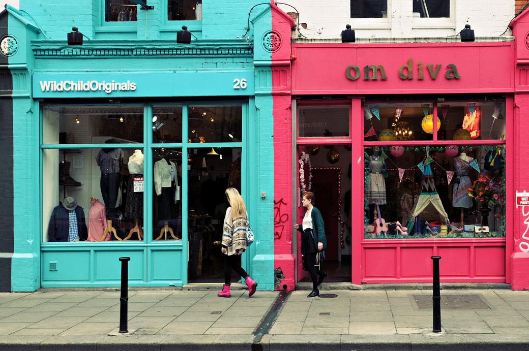 Boutiques de vêtements à Dublin, Irlande