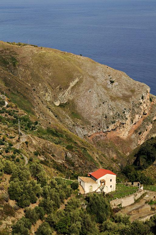 Maison isolée à Taormine en Sicile, Italie