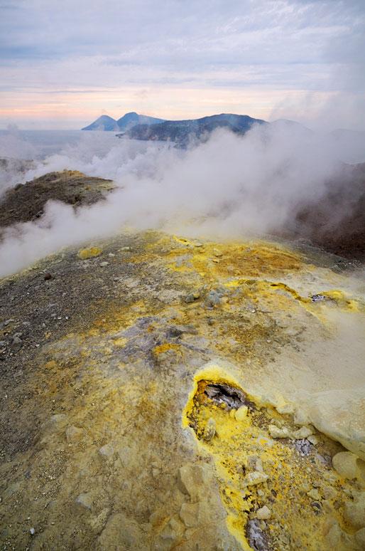 Archipel volcanique des îles Éoliennes, Italie