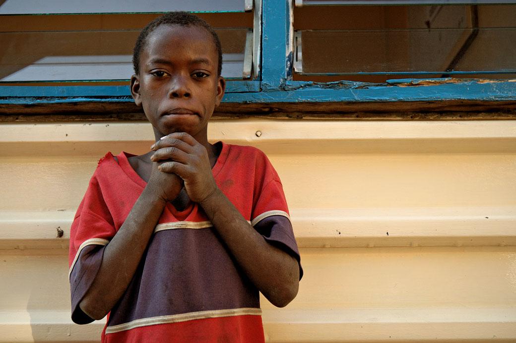 Portrait d'un enfant de Lilongwe, Malawi