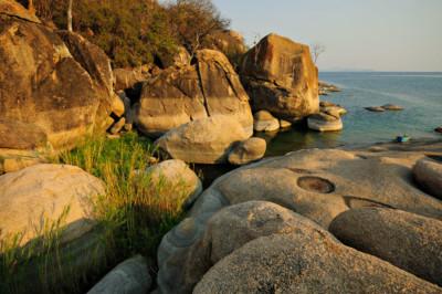 Otter Point dans le parc national du lac Malawi