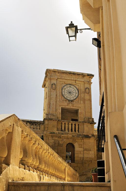 Citadelle de Victoria à Gozo, Malte