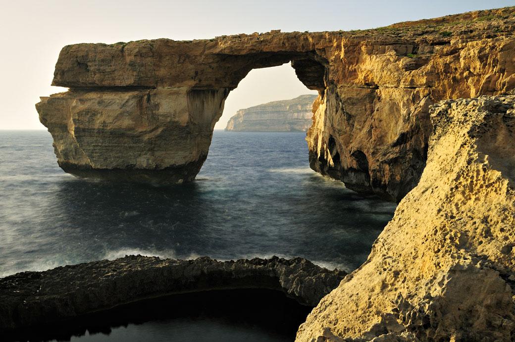 Fenêtre d'Azur à Gozo, Malte