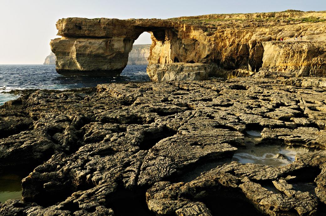 Fenêtre d'Azur et côte sauvage de Gozo, Malte