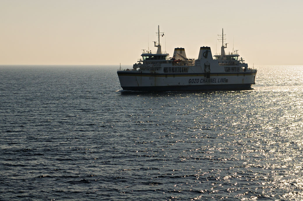 Ferry Gozo Channel Line, Malte