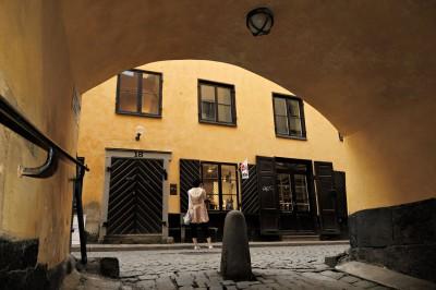 Ferkens Gränd, une ruelle de Gamla Stan à Stockholm