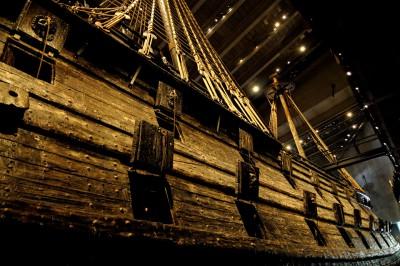 Vaisseau du Vasa museet à Stockholm, Suède