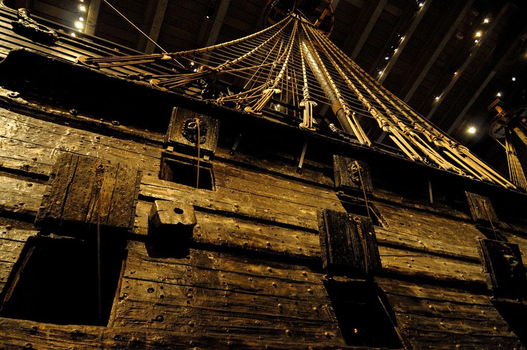 Navire de guerre du Vasa museet à Stockholm, Suède