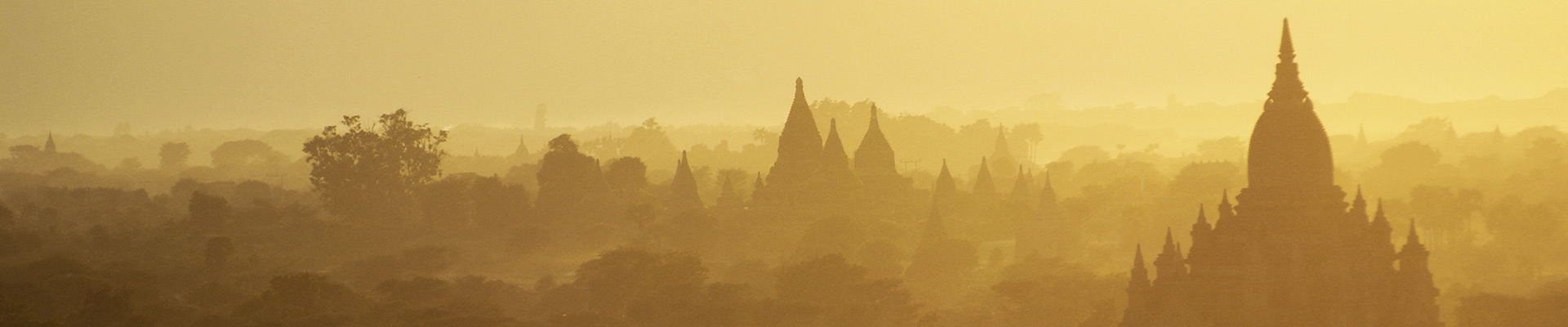 Top image temples de Bagan en Birmanie