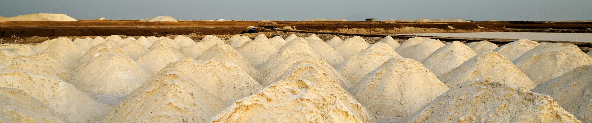 Top image tas de sel à Afdera, Ethiopie