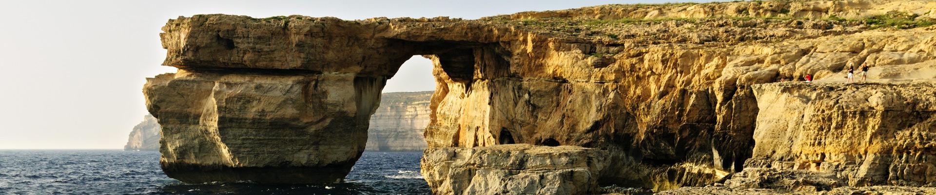 Top image Fenêtre d'Azur Gozo, Malte