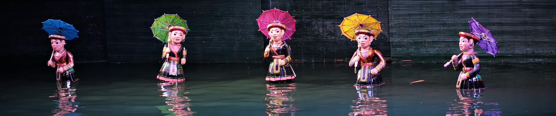 Top image marionnettes Hanoi, Vietnam