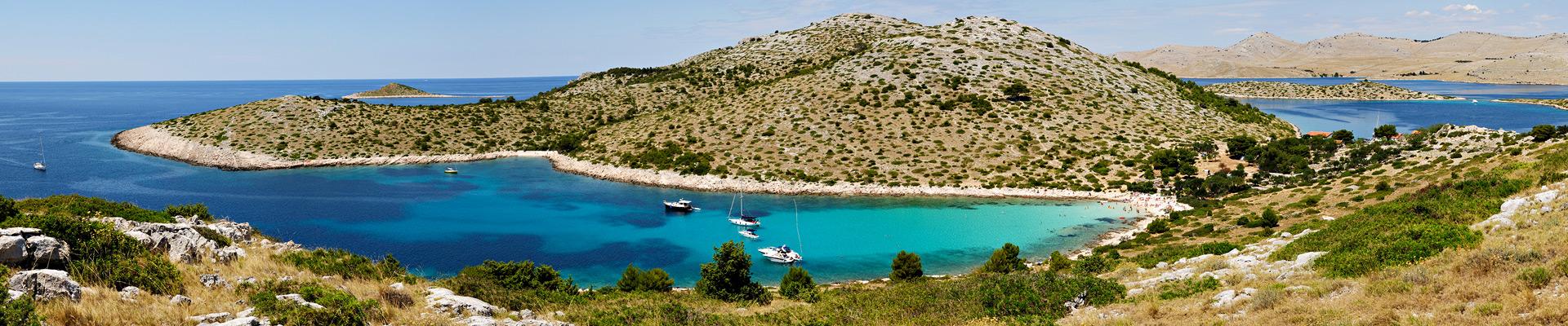 Top image archipel des Kornati, Croatie