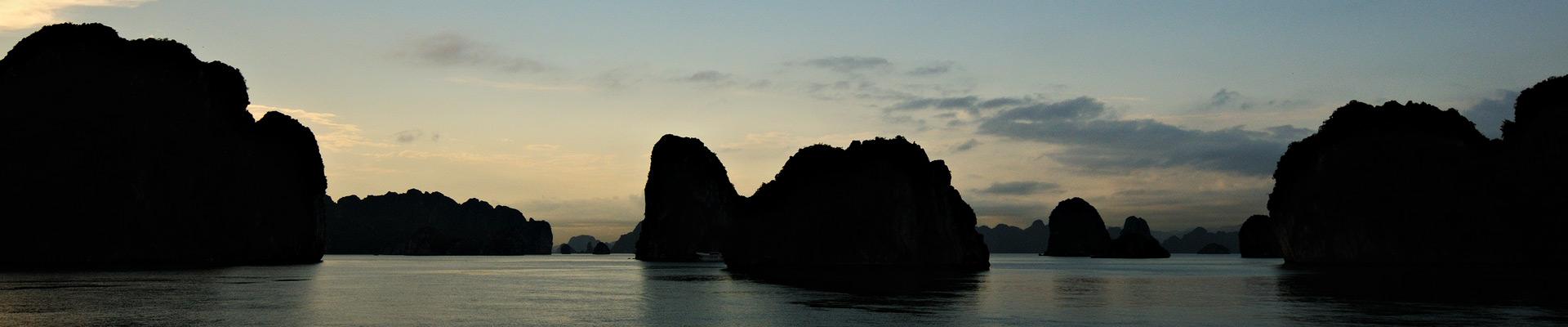 Top image baie d'Halong, Vietnam